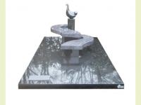 Zwart met orion - Eigen ontwerp met bronzen plaquette