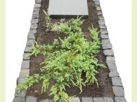 Basalt natuursteen tuinperk