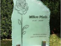 Glazen urnmonument - Willem Maris