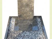 Urnsteen gebogen zuil