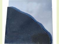 Urnsteen van graniet i.c.m. RVS